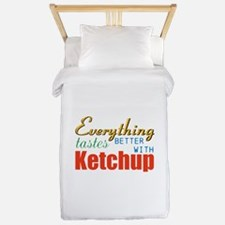 Better With Ketchup Twin Duvet