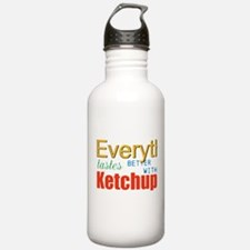 Better With Ketchup Water Bottle