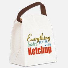 Better With Ketchup Canvas Lunch Bag