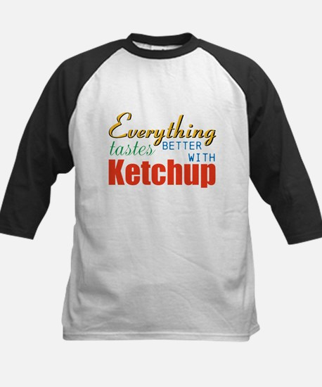 Better With Ketchup Baseball Jersey
