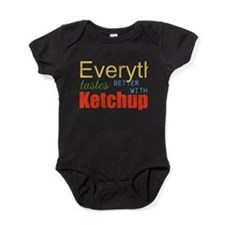 Better With Ketchup Baby Bodysuit