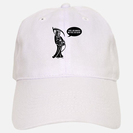 Death Feels Alive Baseball Cap