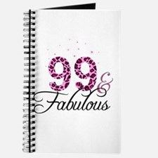 99 and Fabulous Journal