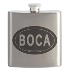 Boca Raton FL Oval Flask