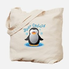 Just Chilin Tote Bag