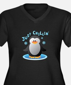 Just Chilin Plus Size T-Shirt