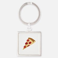 Pizza Slice Keychains