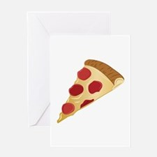 Pizza Slice Greeting Cards
