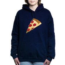 Pizza Slice Women's Hooded Sweatshirt