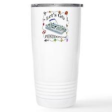 Cute Pontoon boat Travel Mug