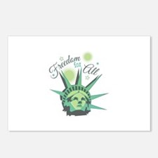 Freedom For All Postcards (Package of 8)
