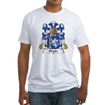 Blouin Family Crest Fitted T-Shirt