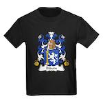 Blouin Family Crest Kids Dark T-Shirt