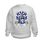 Blouin Family Crest Kids Sweatshirt