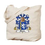 Blouin Family Crest Tote Bag