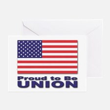 Proud to be Union Greeting Cards (Pk of 10)