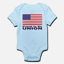 Proud to be Union Infant Creeper