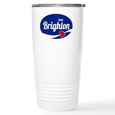 Brighton Ski Resort Uta Thermos Mug