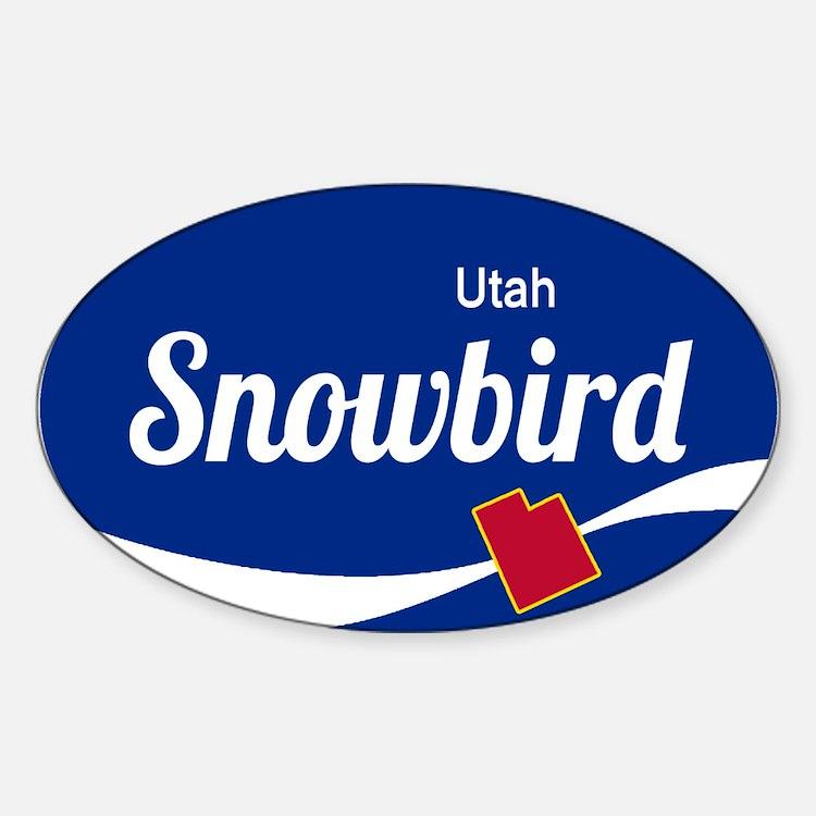 Snowbird Ski Resort Stickers Snowbird Ski Resort Sticker