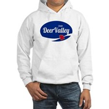 Deer Valley Ski Resort Utah oval Hoodie