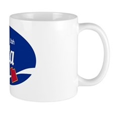 Alta Ski Resort Utah oval Mug