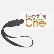 Covered In Cheese Luggage Tag