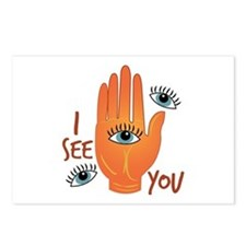 I See You Postcards (Package of 8)
