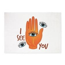 I See You 5'x7'Area Rug