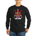 Blois Family Crest Long Sleeve Dark T-Shirt