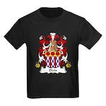 Blois Family Crest Kids Dark T-Shirt