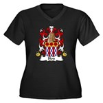 Blois Family Crest Women's Plus Size V-Neck Dark T