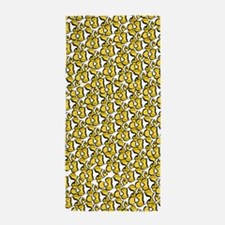 School of Clownfish Pattern Beach Towel