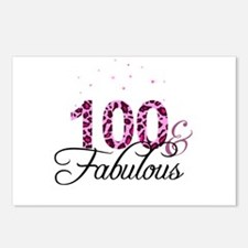 100 and Fabulous Postcards (Package of 8)