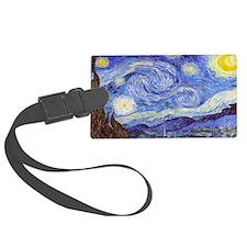 'The Starry Night' Van Gogh Luggage Tag