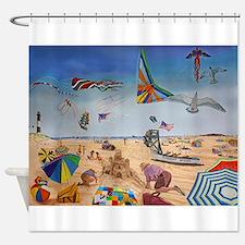 Robert Moses Beach Shower Curtain