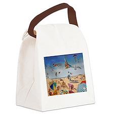 Robert Moses Beach Canvas Lunch Bag