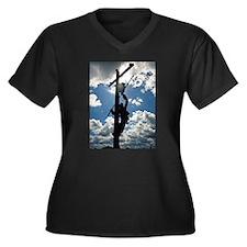 Rusty the Lineman Plus Size T-Shirt