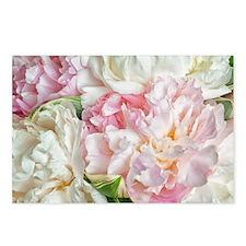 Blooming Peonies Postcards (Package of 8)