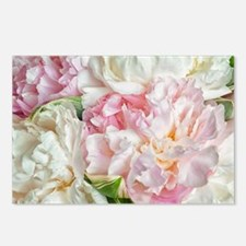 Blooming Peonies Postcards (Package of 8)