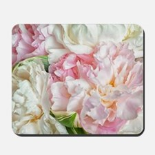 Blooming Peonies Mousepad