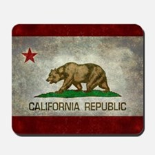 State flag of California - Vintage retro Mousepad