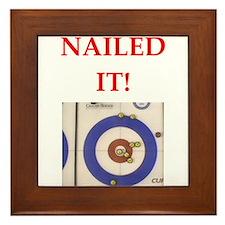 curling Framed Tile