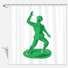 Toy Soldier Shower Curtain