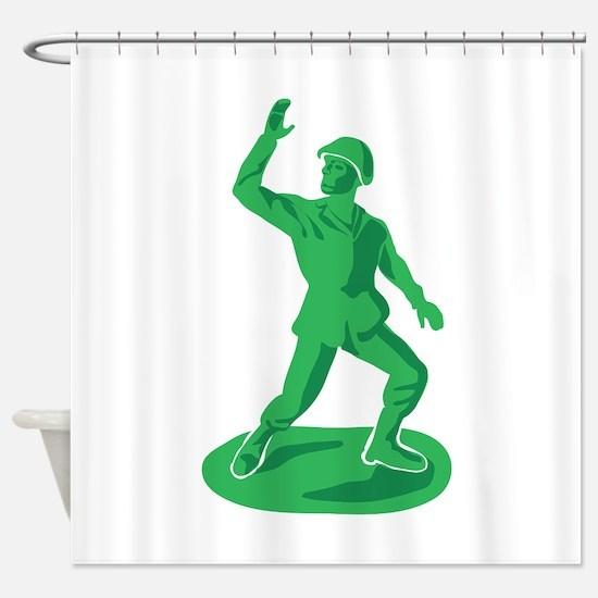 Toy Soldier Shower Curtain