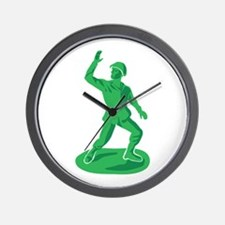 Toy Soldier Wall Clock