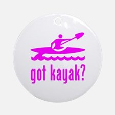 got kayak? Round Ornament
