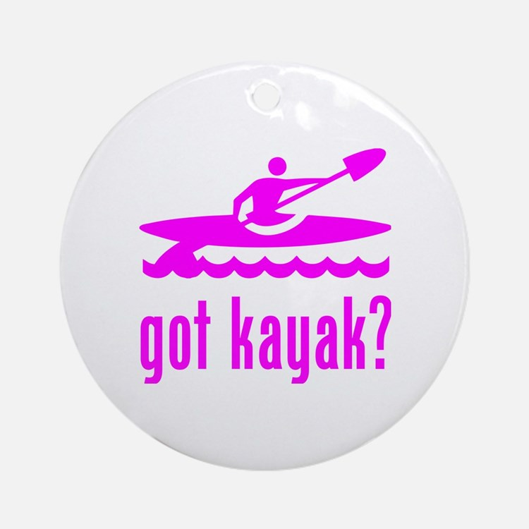 got kayak? Round Ornament