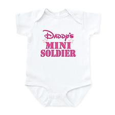 DADDY'S MINI SOLDIER Infant Bodysuit