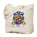 Bezin Family Crest Tote Bag