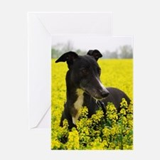 Among the flowers Greeting Cards